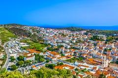Arquitetura da cidade da cidade Hvar, Croácia Imagens de Stock Royalty Free