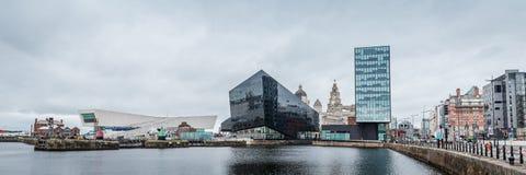 Arquitetura da cidade Liverpool, Inglaterra, Reino Unido foto de stock