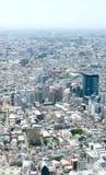 Arquitetura da cidade no Tóquio Shinjuku de Japão Fotos de Stock