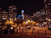 Arquitetura da cidade 1 da noite imagem de stock