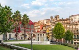 Arquitetura da cidade Porto Portugal do dia fotografia de stock royalty free