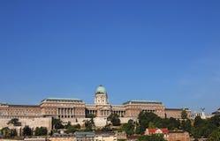 Arquitetura da cidade real Budapest do castelo Fotos de Stock Royalty Free