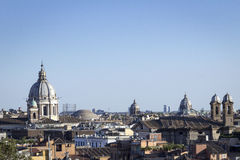 Arquitetura da cidade Roma Fotos de Stock Royalty Free