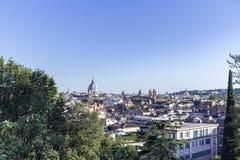 Arquitetura da cidade Roma Imagem de Stock Royalty Free