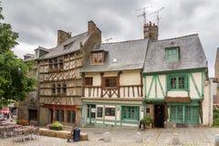 Arquitetura da cidade Saint Brieuc Fotografia de Stock Royalty Free