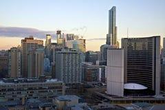 Arquitetura da cidade - Toronto, Canadá Fotografia de Stock