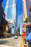 Arquitetura da cidade urbana de New York Distrito do Midtown EUA Imagem de Stock