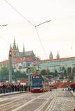 Arquitetura da cidade velha de Praga Fotos de Stock