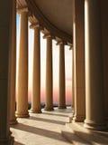 Arquitetura da coluna fotografia de stock