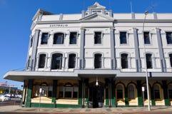Arquitetura da construção de Fremantle: Velho e novo Fotografia de Stock Royalty Free