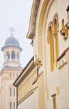 Arquitetura da igreja ortodoxa Foto de Stock Royalty Free