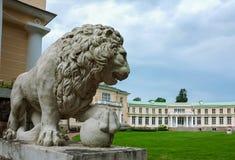 A arquitetura da propriedade Maryino, Rússia Imagens de Stock