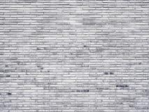 A arquitetura da textura da parede de tijolo detalha preto e branco Fotos de Stock