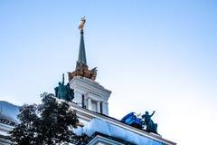 Arquitetura da Uni?o Sovi?tica imagens de stock royalty free