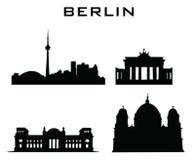 Arquitetura das construções de Berlim Imagem de Stock