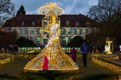 Arquitetura das iluminações Imagem de Stock Royalty Free