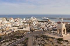 Arquitetura de Almeria fotografia de stock royalty free