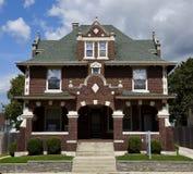 Arquitetura de Bloomington Italianate Imagem de Stock Royalty Free