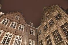 Arquitetura de Bruges Fotografia de Stock Royalty Free
