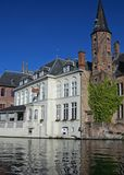 Arquitetura de Bruges Foto de Stock Royalty Free