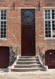 Arquitetura de Buges - porta velha Fotos de Stock Royalty Free