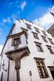Arquitetura de Cesky Krumlov Fotos de Stock Royalty Free