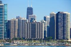 Arquitetura de Chicago Fotografia de Stock Royalty Free