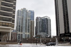Arquitetura de Chicago, IL Fotos de Stock