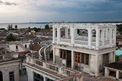 Arquitetura de Cienfuegos, Cuba imagem de stock royalty free
