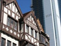 Arquitetura de contraste Fotografia de Stock