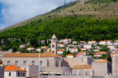 Arquitetura de Dubrovnik Imagens de Stock Royalty Free