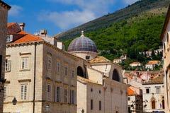 Arquitetura de Dubrovnik Foto de Stock Royalty Free