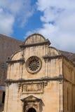 Arquitetura de Dubrovnik Imagem de Stock