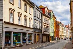 Arquitetura de Eisenach, Thuringia, Alemanha Imagem de Stock Royalty Free