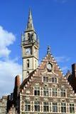 Arquitetura de Ghent Imagem de Stock Royalty Free