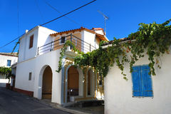 Arquitetura de Greece fotografia de stock royalty free