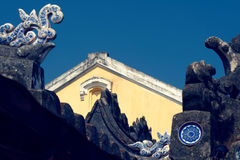 Arquitetura de Hoi An, Vietname foto de stock royalty free