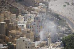 Arquitetura de Iémen Foto de Stock Royalty Free