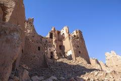 Arquitetura de Ksar de AIT-Ben-Haddou, Moroccco Fotografia de Stock Royalty Free