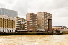 Arquitetura de Londres, Inglaterra, Reino Unido Foto de Stock Royalty Free