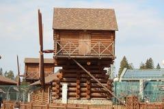 Arquitetura de madeira Foto de Stock Royalty Free