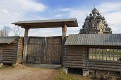 Arquitetura de madeira Fotografia de Stock Royalty Free