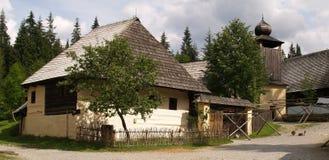 Arquitetura de madeira velha Imagem de Stock Royalty Free
