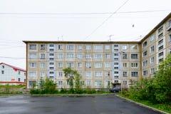 Arquitetura de Magada, Federação Russa foto de stock royalty free