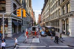 Arquitetura de Manhattan, New York, EUA Imagem de Stock Royalty Free