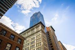 Arquitetura de Manhattan, New York, EUA Imagem de Stock