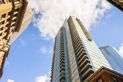 Arquitetura de Manhattan, New York, EUA Imagens de Stock Royalty Free
