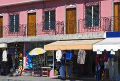Arquitetura de Mazatlan México e cena da rua fotografia de stock