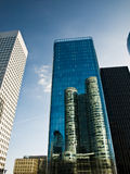 Arquitetura de negócio Imagens de Stock Royalty Free