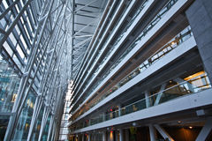 Arquitetura de negócio moderna fotografia de stock royalty free